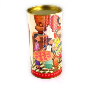Colorful Tea Canister