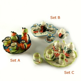 Miniature Teapot Set