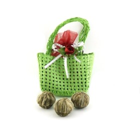 Miniture Tote Bag of Blooming Flower Tea