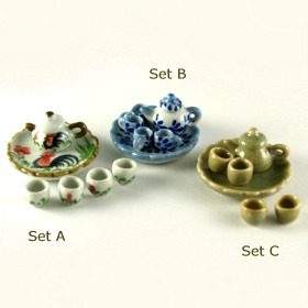 Smallest Miniature Teapot Set