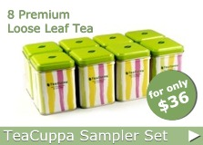 TeaCuppa Sampler Set